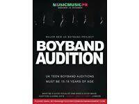"""Boyband Auditions """"Teenage 15-18"""""""