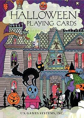 Halloween Playing Cards  bats, black cats, ghosts, goblins, ghosts *CAT-atude