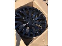 "17"" Kahn Cosworth Alloys Black - REDUCED"