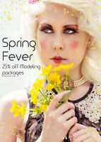Spring Fever 25% off modeling photo packages
