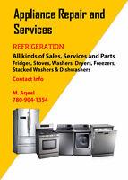 ALBERTA'S BEST APPLIANCE REPAIR & SERVICES --- 780-904-1354