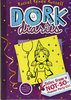 DORK DIARIES BY RACHEL RENEE RUSSELL #1 TO #6 HARDCOVER