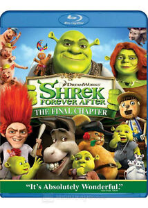 Shrek Forever After The Final Chapter Blu-ray/DVD