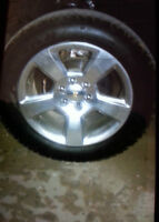 "20"" Rims & Tires willing to trade for 17"" (Off Set Rims)"