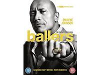 BALLERS - SEASON 1 - brand new/sealed in region 2