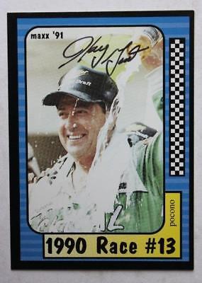Nascar Driver Legend Harry Gant signed/autographed 1991 Pocono Maxx racing card! Driver Legend Signed