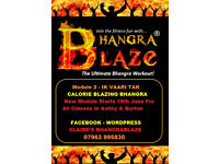 Claire's BhangraBlaze Fitness Classes - Ashby & Burton - No Need To Book - Just Come Along