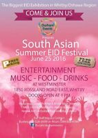 Attention Vendors: South Asian Summer EID Festival 2016