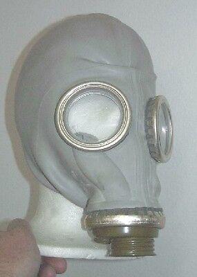 NVA Gasmaske SchM41M Schutzmaske grau gebraucht guter Zustand Größe 4