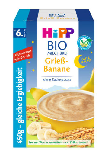 1 Box of HiPP Organic Cereal - 450g Boxes - Pick a Flavor!