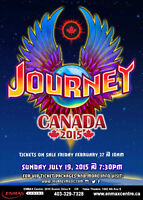 2 for 1 SALE - - Journey Floor Tickets - Prince George