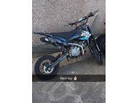 2013 Demon x 160cc