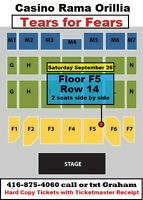 Tears for Fears Tickets Casino Rama