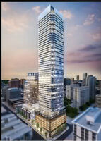 New condo close to UofT, $1600/month by builder Rent 2Yrs Watch|