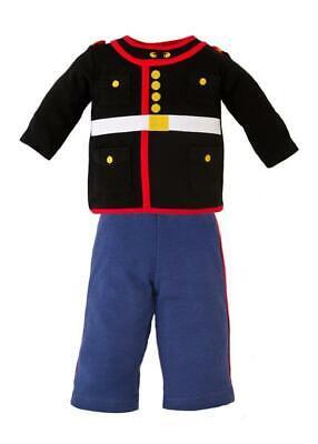 USMC Marine Corps Dress Blues 2 Pc Infant Set - Marine Corps Costume