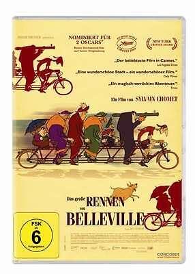 $ DVD * Das große Rennen von Belleville - CHOMET # NEU OVP