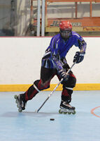 Roller Hockey and Ball Hockey NHL size rink! Book it!
