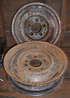 Vintage Ford Steel Truck Rims