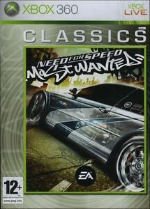 New Need for Speed Most Wanted Classics (Xbox 360)