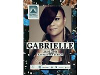 2 tickets Gabrielle 7/11 Bournemouth Pavilion