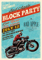 2ND ANNUAL BAD APPLE BLOCK PARTY