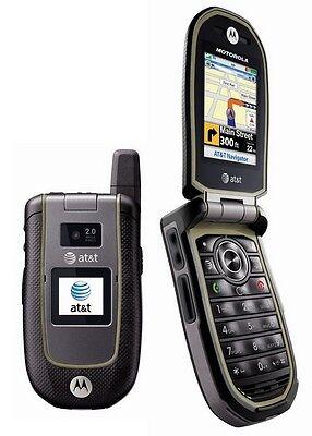 At&t Motorola Tundra Va76r Rugged Flip Phone