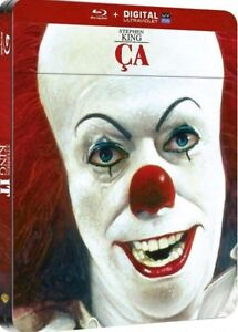 Blu-ray-steelbook-CA-Stephen-King-039-s-IT-edition-Francaise-New-amp-Sealed-NEUF