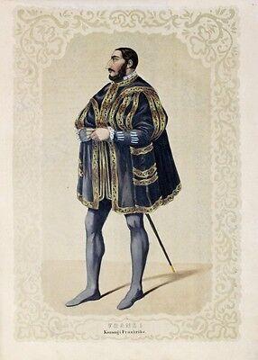 Franz Francois I. Burg Cognac Frankreich France Kostüm Valois Paris Mantel - Kostüm Paris Frankreich