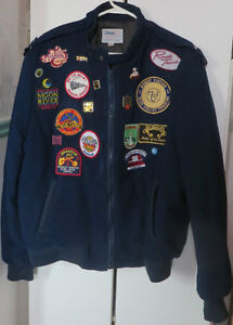 Men's Country Music Collector Logos, Really Warm Winter Jacket