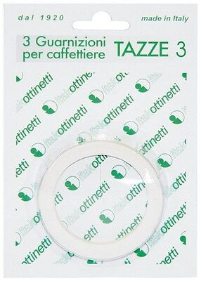 Gasket Mocha for Coffee Makers Type Bialetti Size 3 Cup 3pz