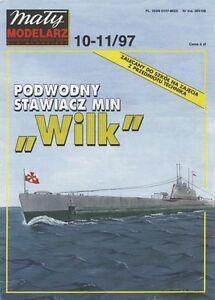 MALY-modelarz-10-11-97-U-Boat-der-POLACCA-MARINA-ORP-Wilk-1931-1-100