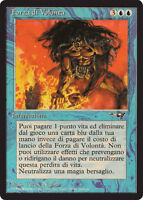 Magic The Gathering - Force of Will card (Italian)