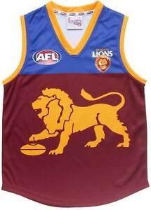 AFL Brisbane Lions Mens Jersey Extra Large Kempsey Kempsey Area Preview