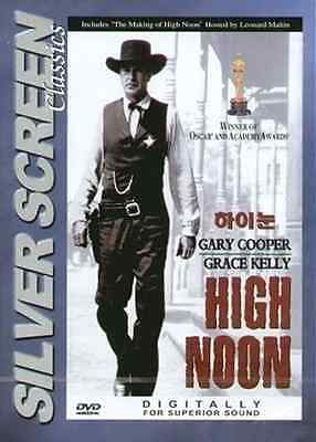 High Noon  1952  New Sealed Dvd Gary Cooper