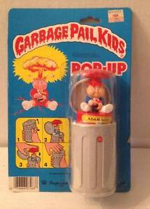 1985 Topps Imperial Toys GARBAGE PAIL KIDS ADAM BOMB Pop-Up ORIGINAL PACKAGE GPK