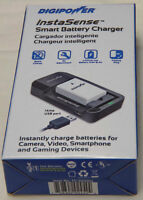 DIGIPOWER BATTERY CHARGER FOR LI-ION BATTERIES Nikon Canon Sony