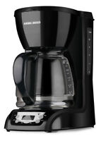 Black & Decker 12-cup Programmable Coffeemaker with Glass Carafe