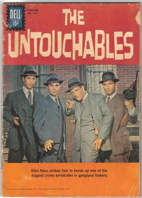 The Untouchables TV Series Four Color Comic Book #1237 Dell Comics VERY GOOD-