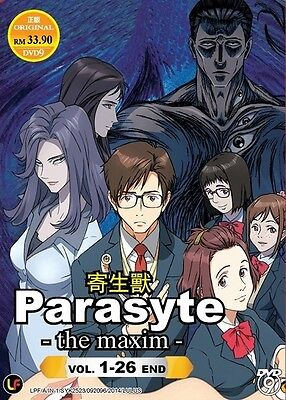 PARASYTE -The Maxim Box Set | S1+S2 | Eps. 01-26 | English Subs | 2 DVDs (M2100)
