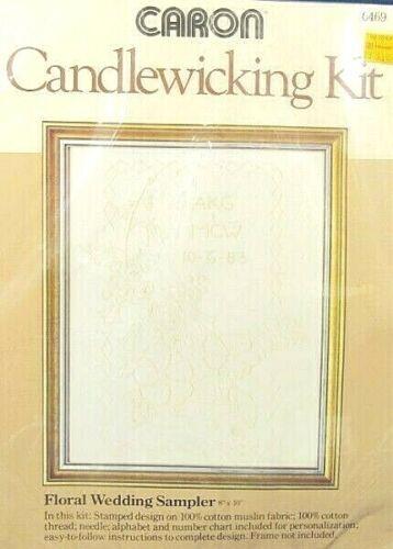 Caron Stamped Candlewicking Kit
