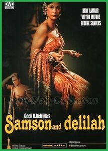 Samson and Delilah (1949) - Hedy Lamarr, Victor Mature - NEW DVD