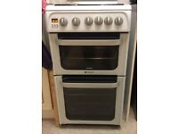 Hotpoint double gas oven