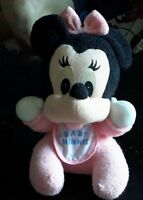 BABY MINNIE MOUSE STUFFY