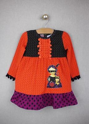 NEW Jelly the Pug Halloween Witch & Pug Dress 6 Girls (Pug Halloween)