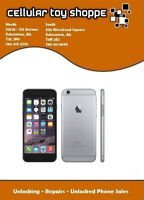 LIKE NEW - iPHONE 6 128GB UNLOCKED ALL CARRIERS &WIND/MOBILICITY