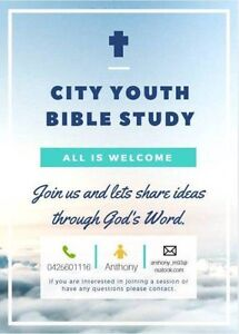 CITY YOUTH BIBLE STUDY GROUP! Sydney City Inner Sydney Preview
