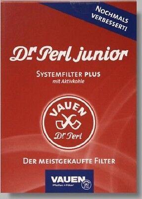 VAUEN DR PERL JUNIOR JUMAX - PFEIFENFILTER - AKTIVKOHLEFILTER - 8  x 180 STÜCK