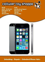 LIKE NEW - iPHONE 5S 16GB UNLOCKED ALL CARRIERS &WIND/MOBILICITY
