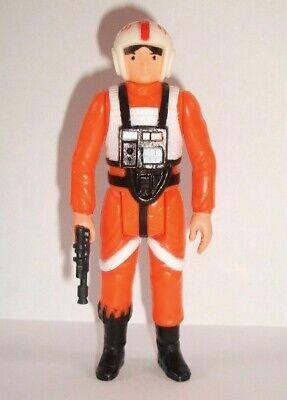 Vintage Star Wars Complete Luke X-Wing Pilot Figure - 1978 - C9 - HONG KONG