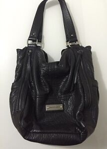 Franco Sarto Black Leather Purse